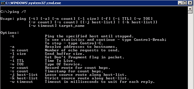 Using Windows to verify DSCP   Concepts for the road…