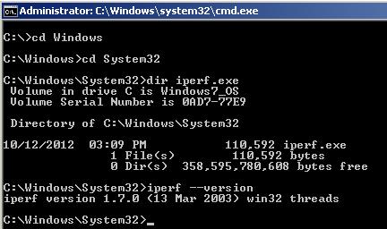 Iperf For Windows 7 64-Bit